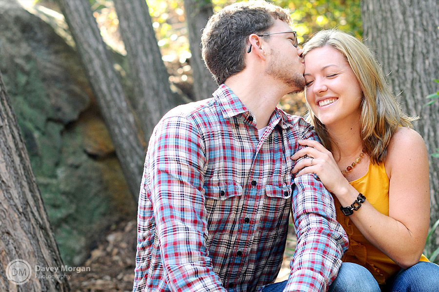 Engagement Photos in Greenville, SC | Davey Morgan Photography