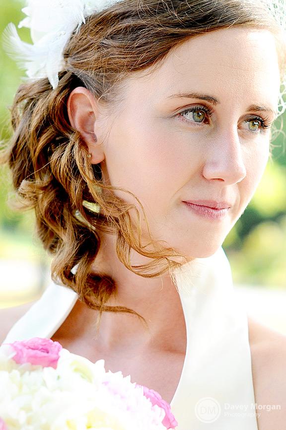 Bride Close-up | Davey Morgan Photography