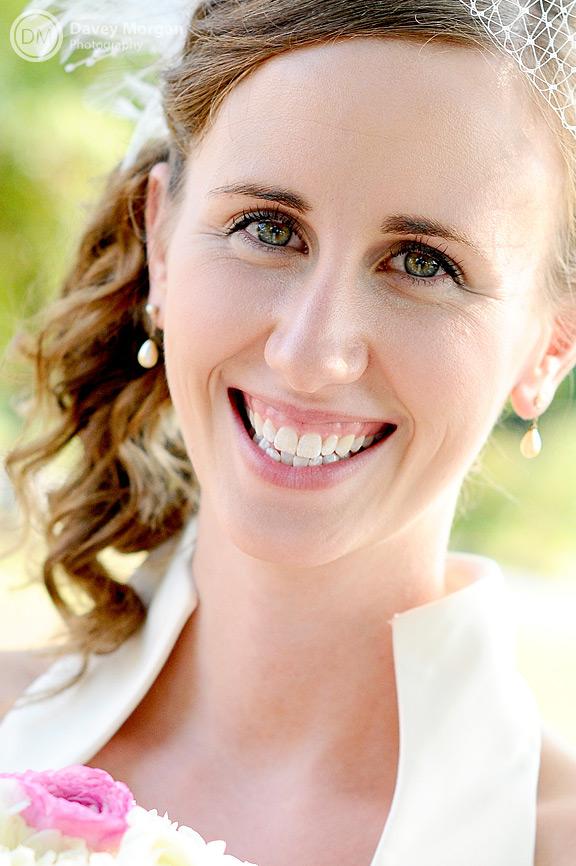 Bride Smiling | Davey Morgan Photography
