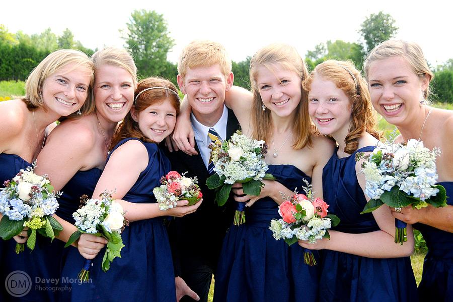 Outdoor Wedding in Vermont | Davey Morgan Photography