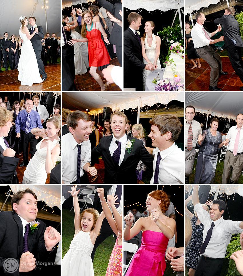 Fun and Crazy Dancing at Wedding Reception | Davey Morgan Photography