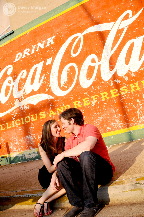 Old Coca Cola Sign Picture, Greenville, SC | Davey Morgan Photography