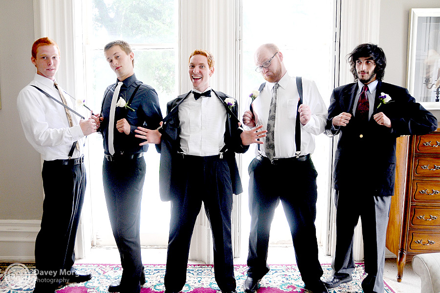 Groom, groomsmen and ushers | Davey Morgan Photography