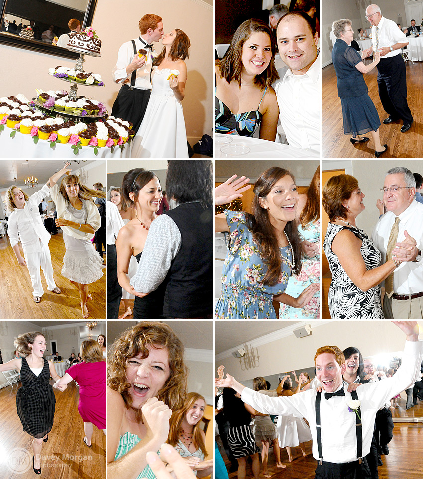 Wedding Dancing, Dancing at Wedding, Cake Cutting | Davey Morgan Photography