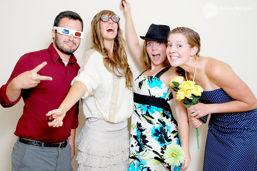 Photo Booth for Wedding Reception in Greenville, SC | Davey Morgan Photography