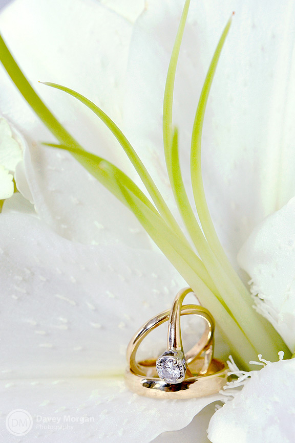 Flower and Ring Photos | Davey Morgan Photography