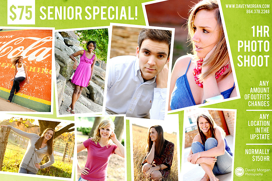 Greenville, SC Senior Photographer | Senior Photographer in Greenville, SC