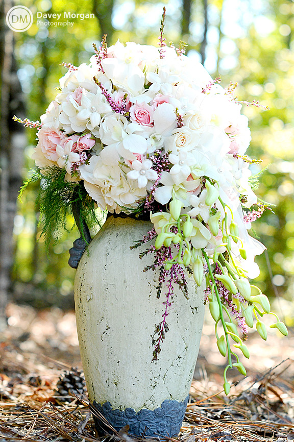 Bridal Bouquet in Greenwood, SC | Davey Morgan Photography