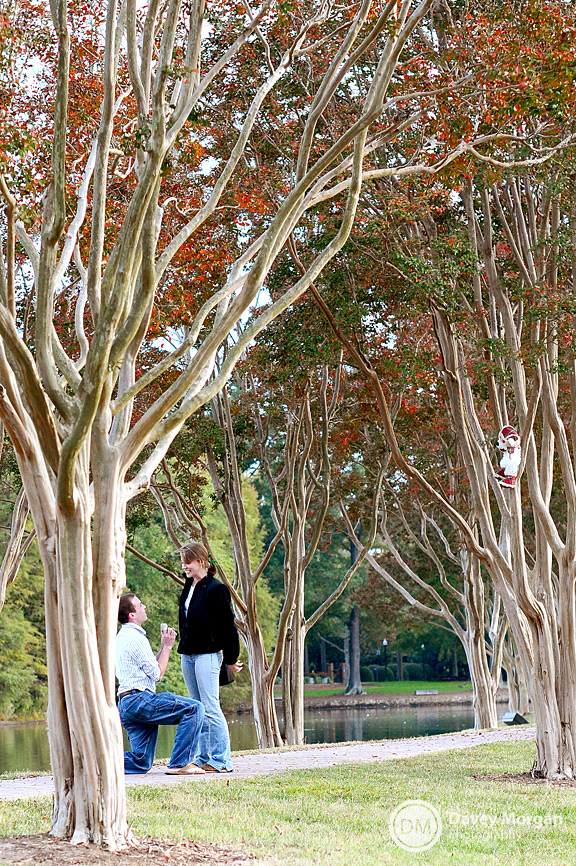 Proposal at Furman University | Davey Morgan Photography