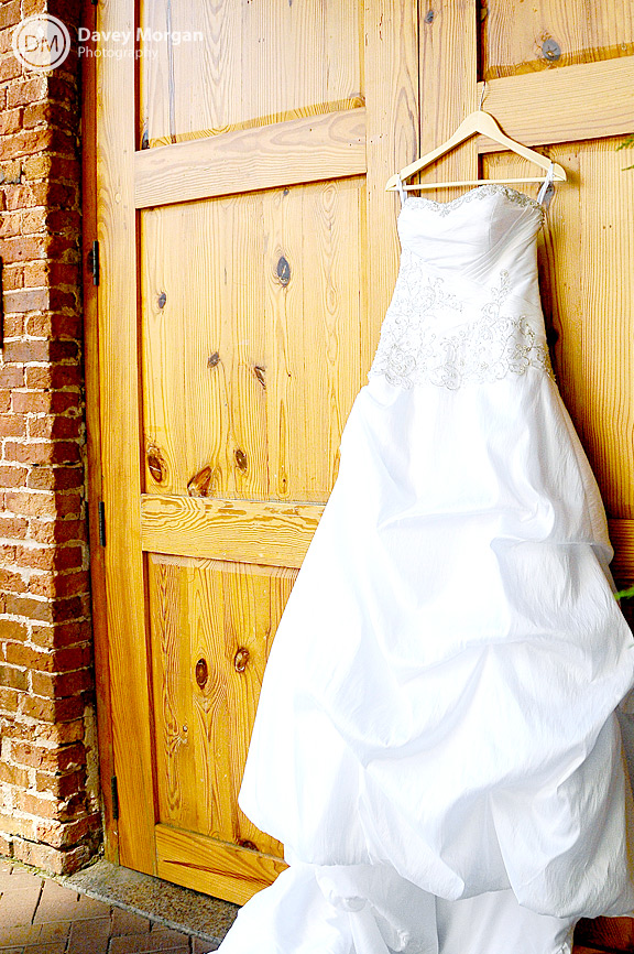 Wedding Bridal Dress, Greenville, SC | Davey Morgan Photography