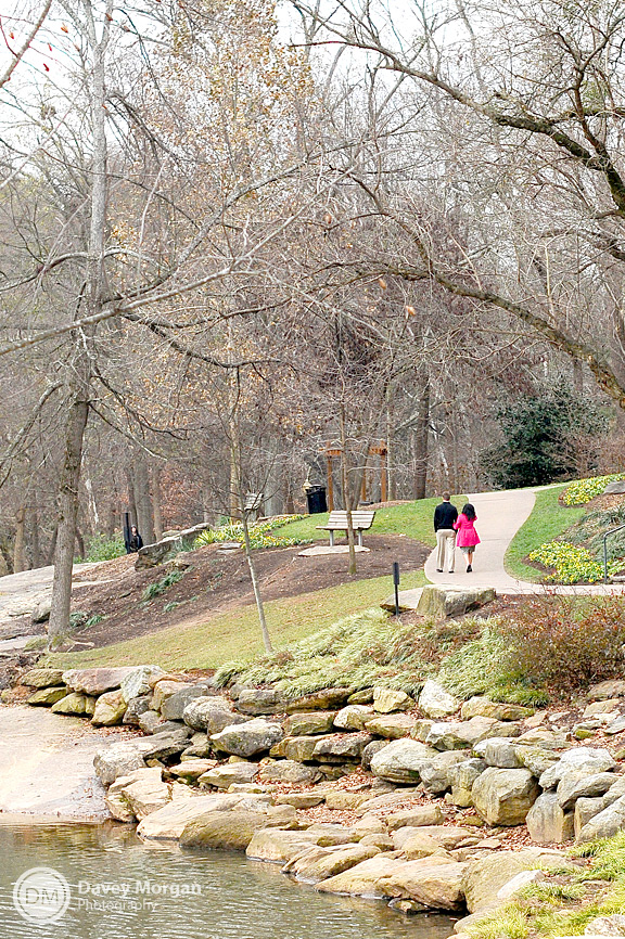 Proposal in Falls Park, Greenville, SC | Davey Morgan Photography