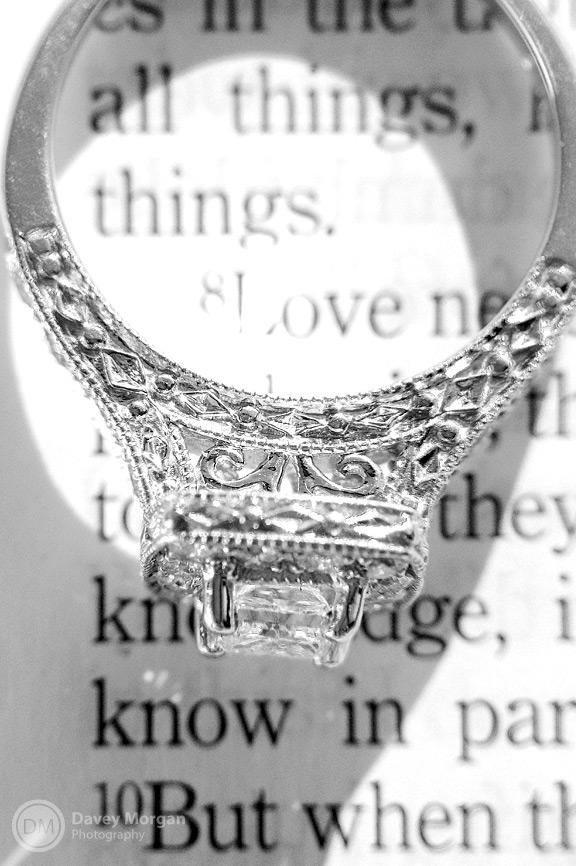 Engagement Ring, Marks and Morgan, Greenville, SC  | Davey Morgan Photography
