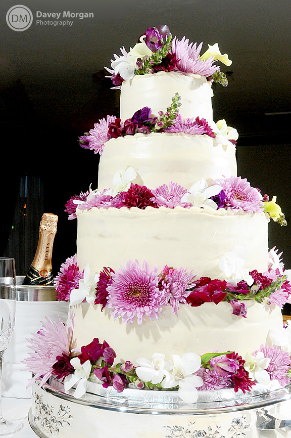Wedding Cake in Greenville, SC | Davey Morgan Photography