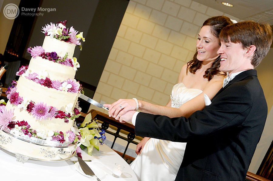 Cake Cutting, Greenville, SC Photographer | Davey Morgan Photography