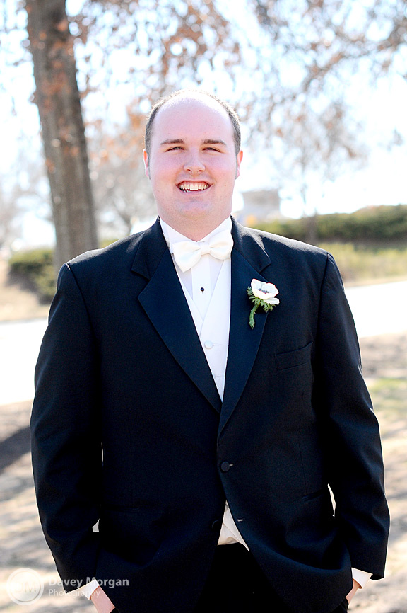 Groom in Greenville, SC | Davey Morgan Photography