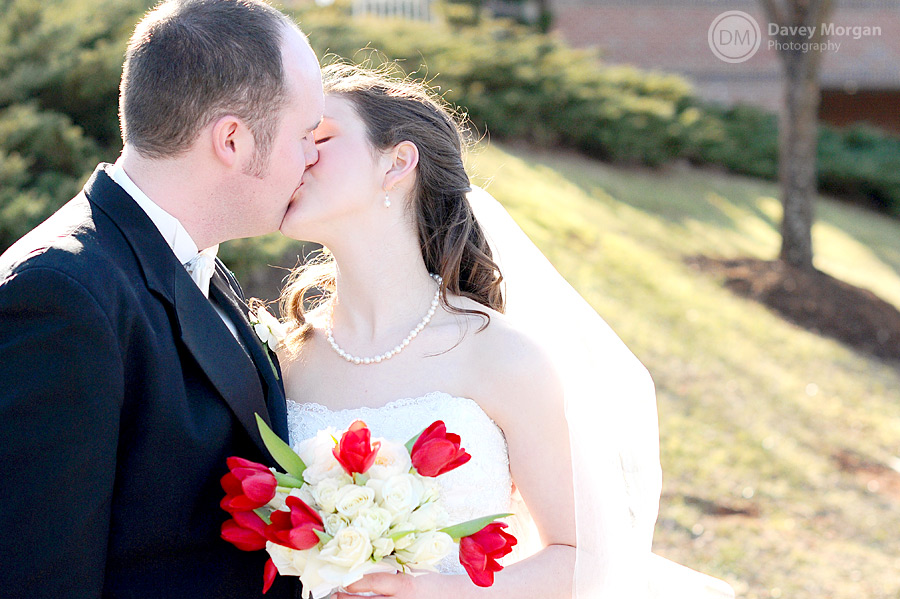 Groom and Bride, Greenville, SC | Davey Morgan Photography
