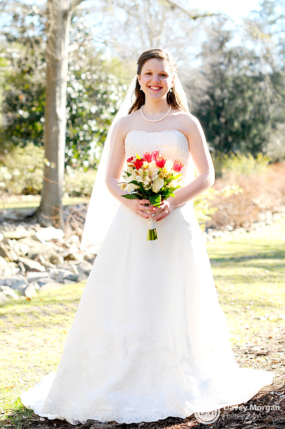 Bridal Pictures in Greenville, SC | Davey Morgan Photography