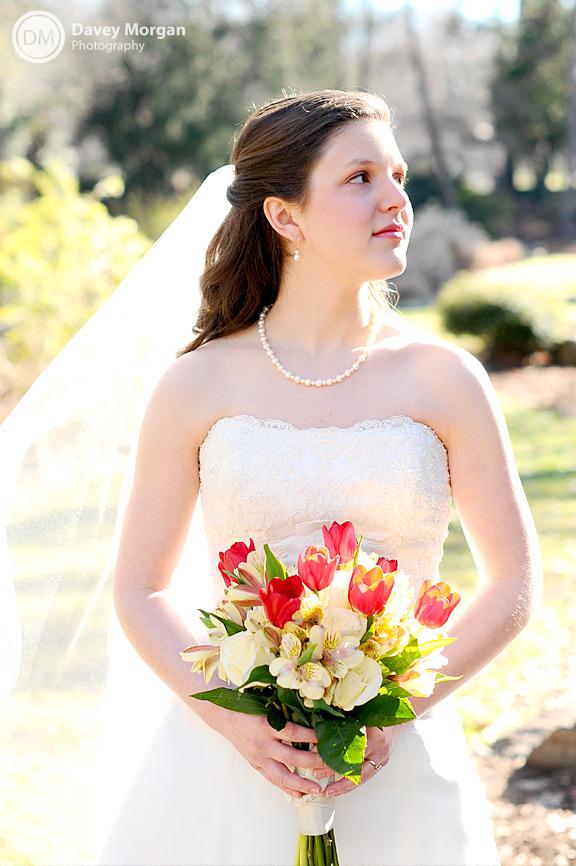 Bridal Photos in Greenville, SC | Davey Morgan Photography
