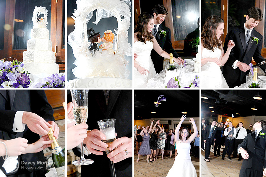Wedding reception at Saw Mill at North Main, Greenville, SC | Davey Morgan Photography