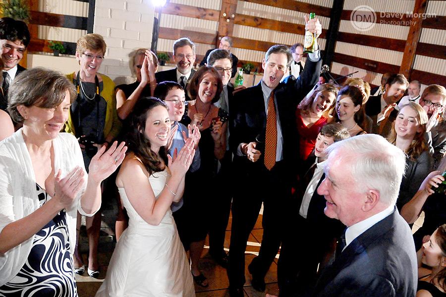 Singing at Wedding Reception, Greenville, SC | Davey Morgan Photography