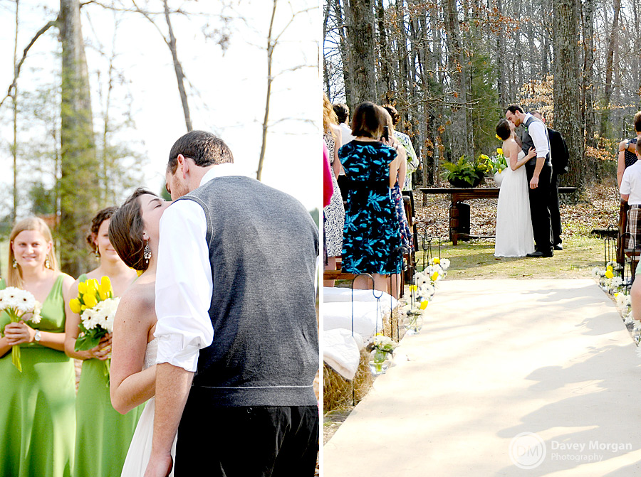 Outdoor wedding | Greenville, SC Wedding Photographer | Davey Morgan Photography (25)