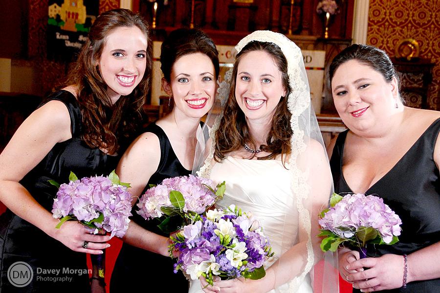 Bridesmaids at Wedding | Davey Morgan Photography