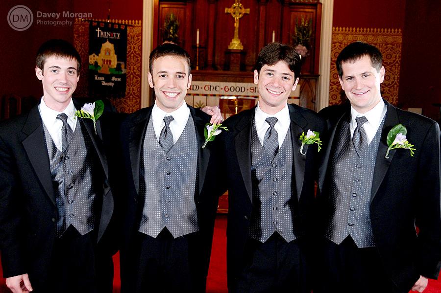 Groomsmen at Wedding | Davey Morgan Photography