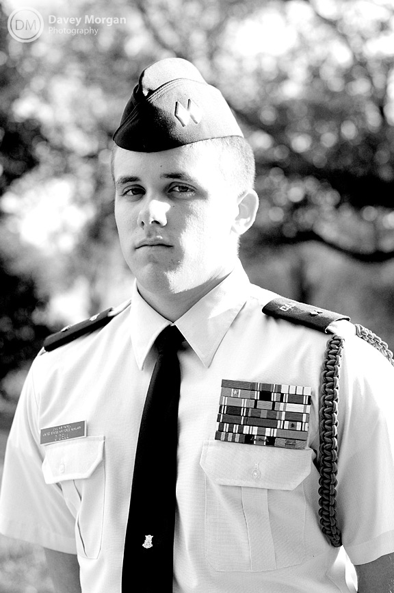 Civil Air Patrol Cadet at Furman University | Davey Morgan Photography
