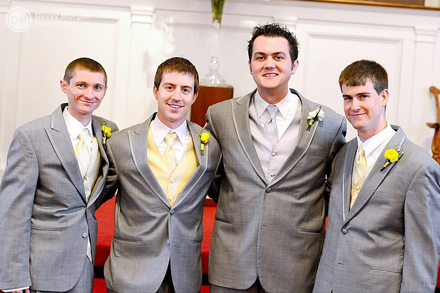 Groomsmen in Wedding | Davey Morgan Photography