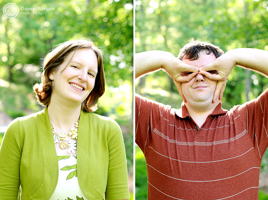 Silly faces in Greenville, SC | Davey Morgan Photography