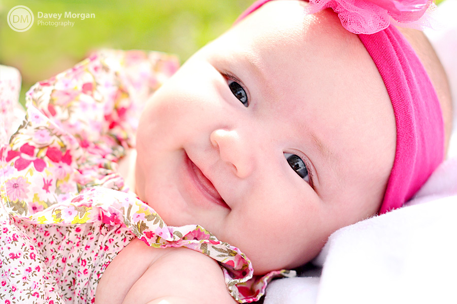 Cute Smiling Baby Pictures in Charleston, SC | Photographer | Davey Morgan Photography