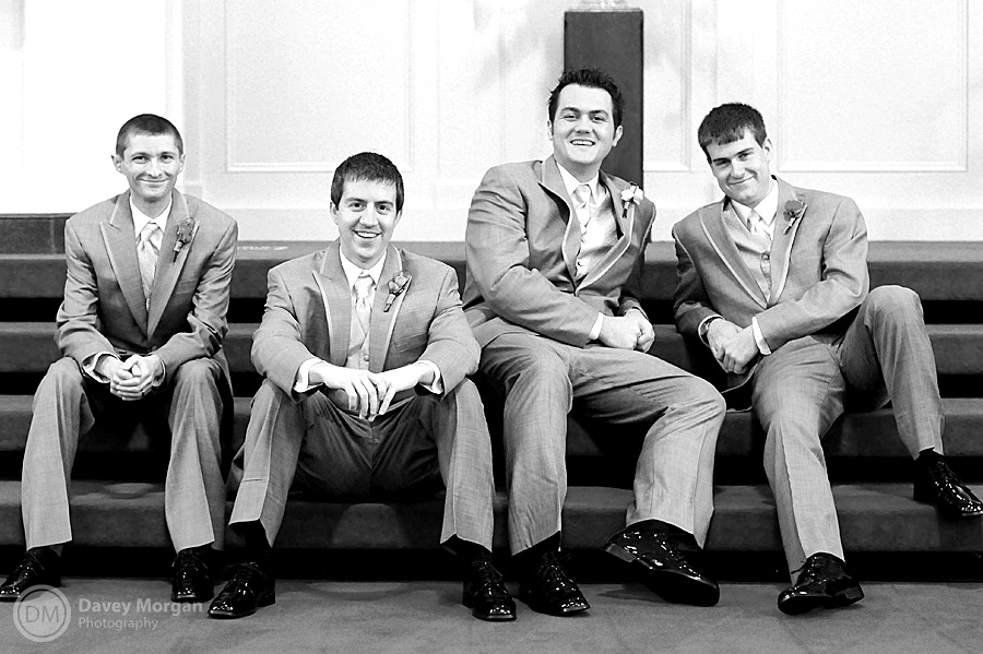 Groomsmen Picture on Wedding Day | Davey Morgan Photography