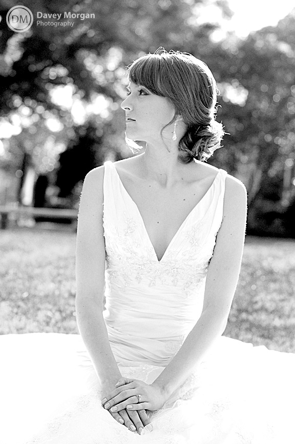 Bridal Photo at Centennial ARP Church in Columbia, SC | Davey Morgan Photography