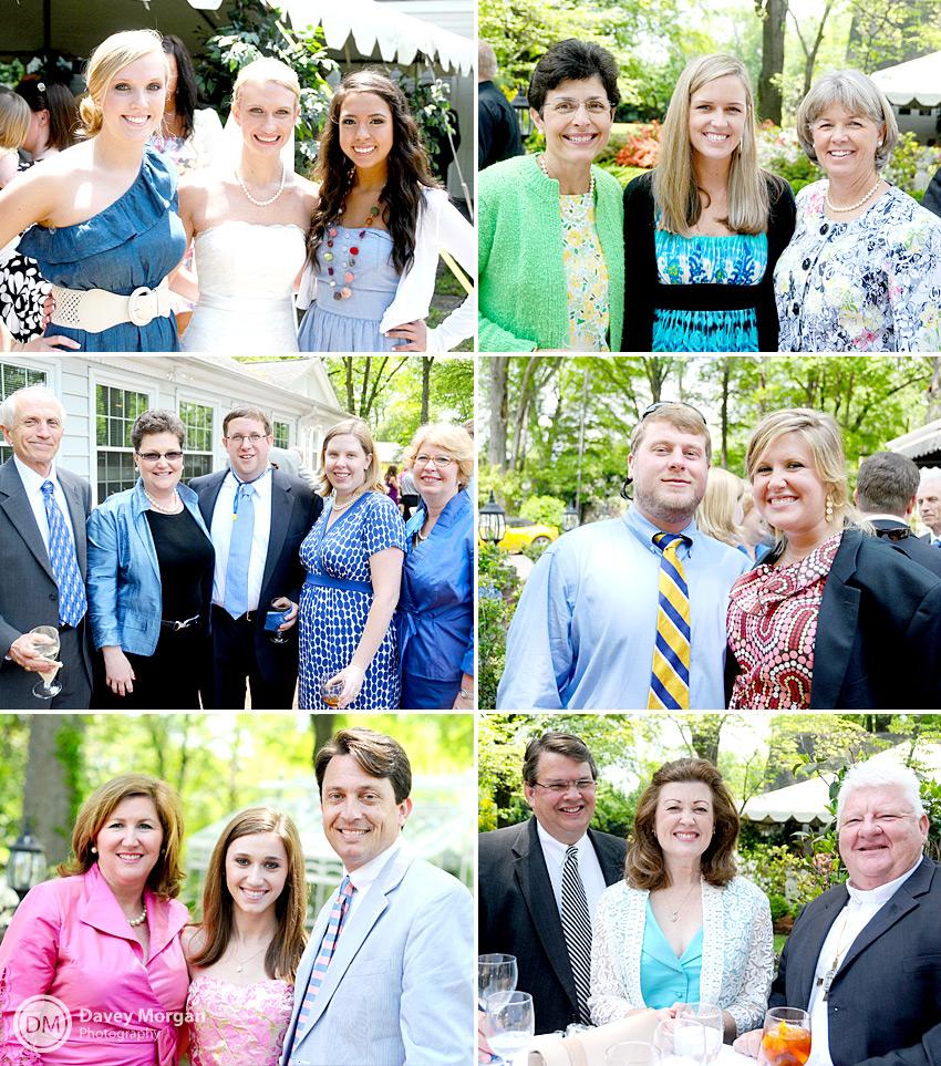 Wedding guests at reception | Davey Morgan Photography