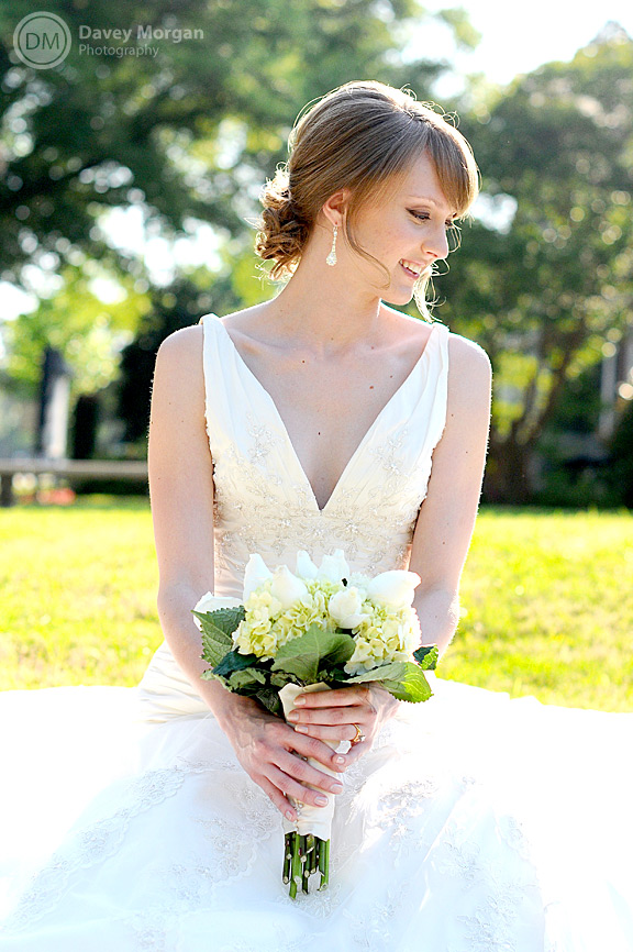 Bridal Picture at Centennial ARP Church, Columbia, SC | Davey Morgan Photography