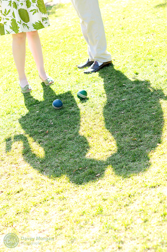 Falls Park Croquet Game in Greenville, SC | Davey Morgan Photography