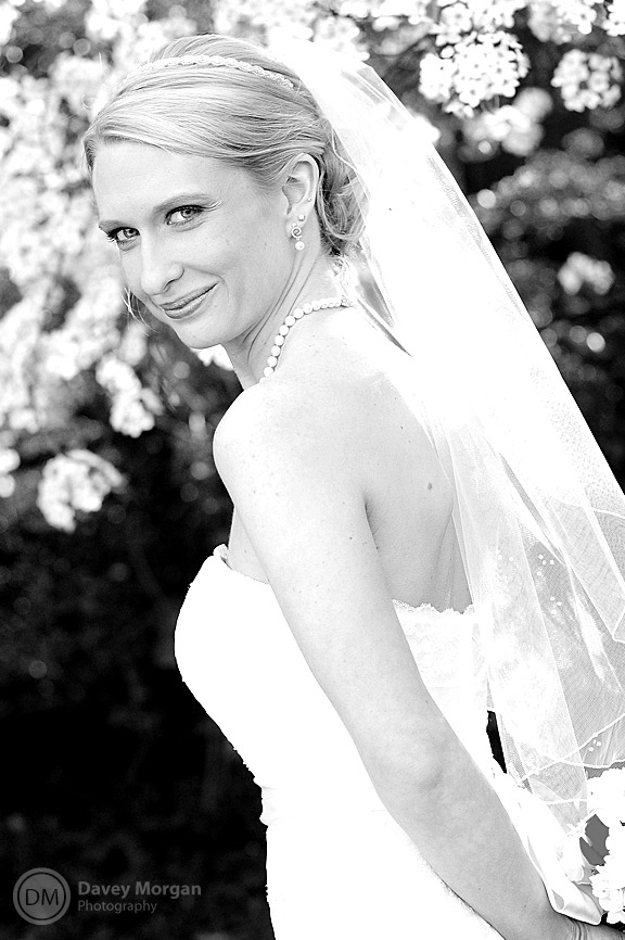 Bride in wedding dress | Davey Morgan Photography