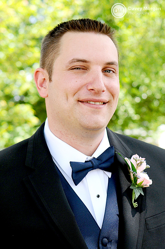 smiling Groom portrait | Davey Morgan Photography