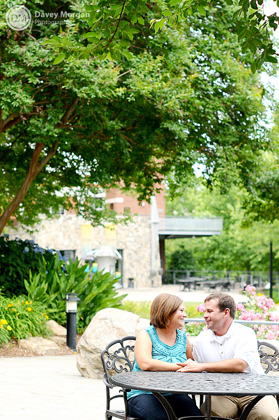 Falls Park Engagement Pictures | Davey Morgan Photography