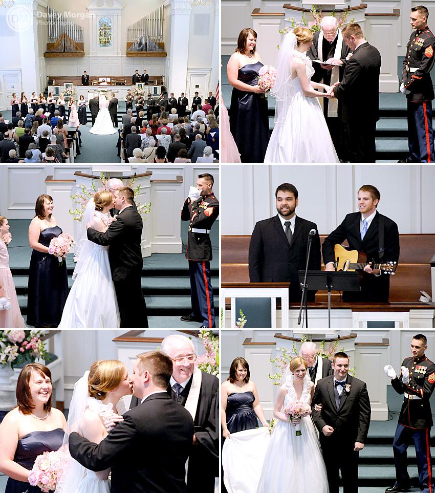 Wedding at Statesville, NC Associate Reformed Presbyterian Church | Davey Morgan Photography