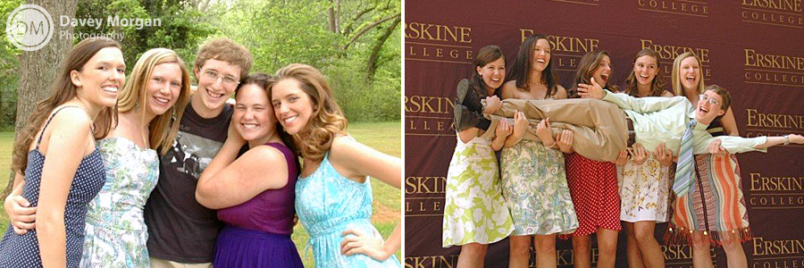 Erskine College Students | Davey Morgan Photography