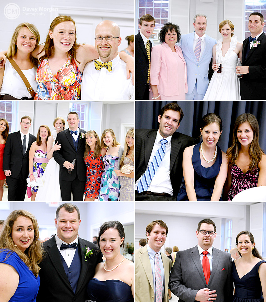 Pictures of Wedding reception guests | Davey Morgan Photography