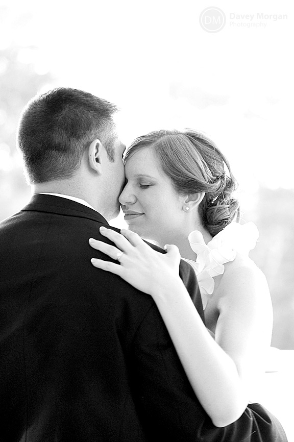 Bride and Groom dancing | Black and white | Davey Morgan Photography