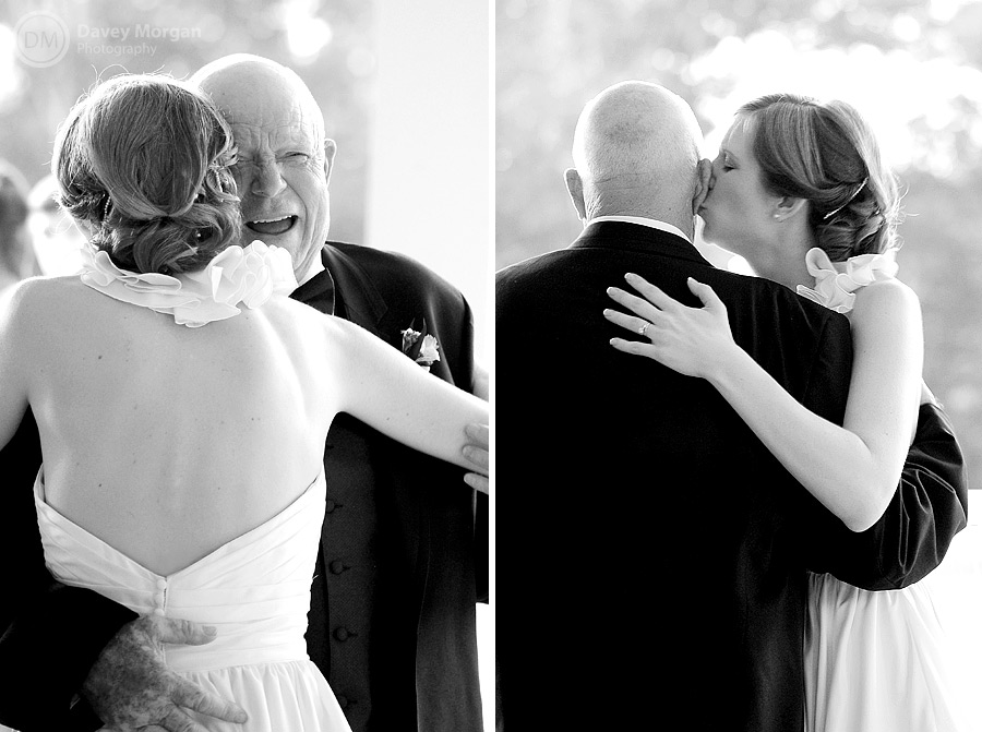Bride and father | Father and daughter dance | Davey Morgan Photography