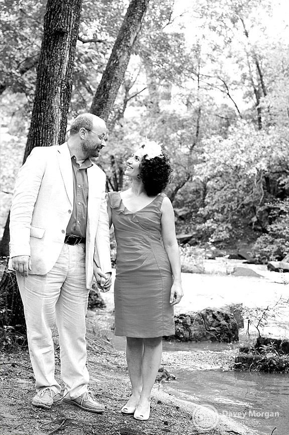 Greenville, SC Falls Park Wedding | Davey Morgan Photography