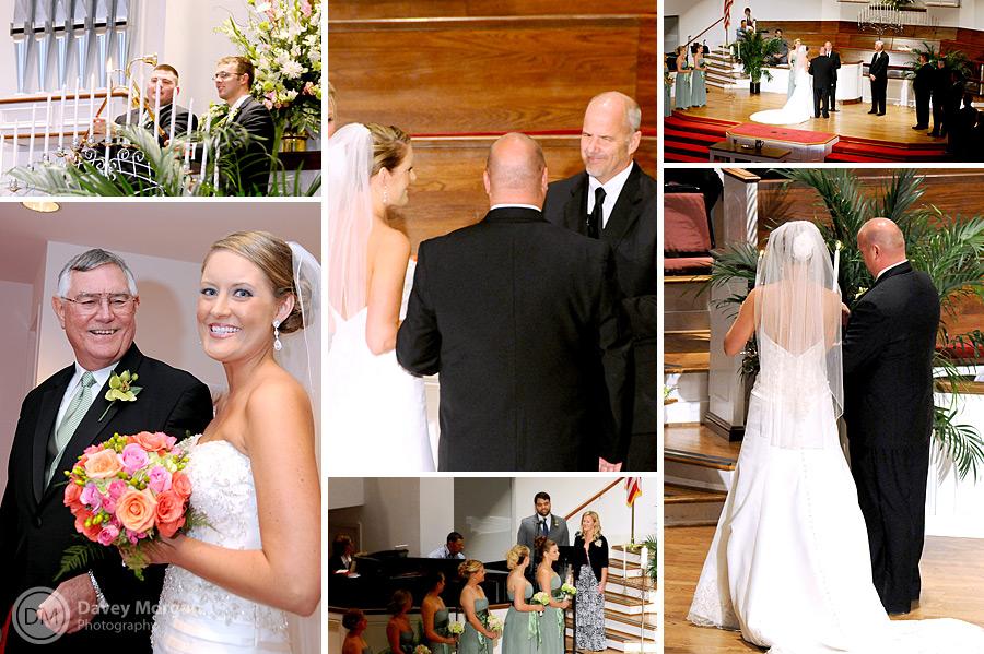 St. Andrews Presbyterian Church in Columbia, SC Wedding | Davey Morgan Photography
