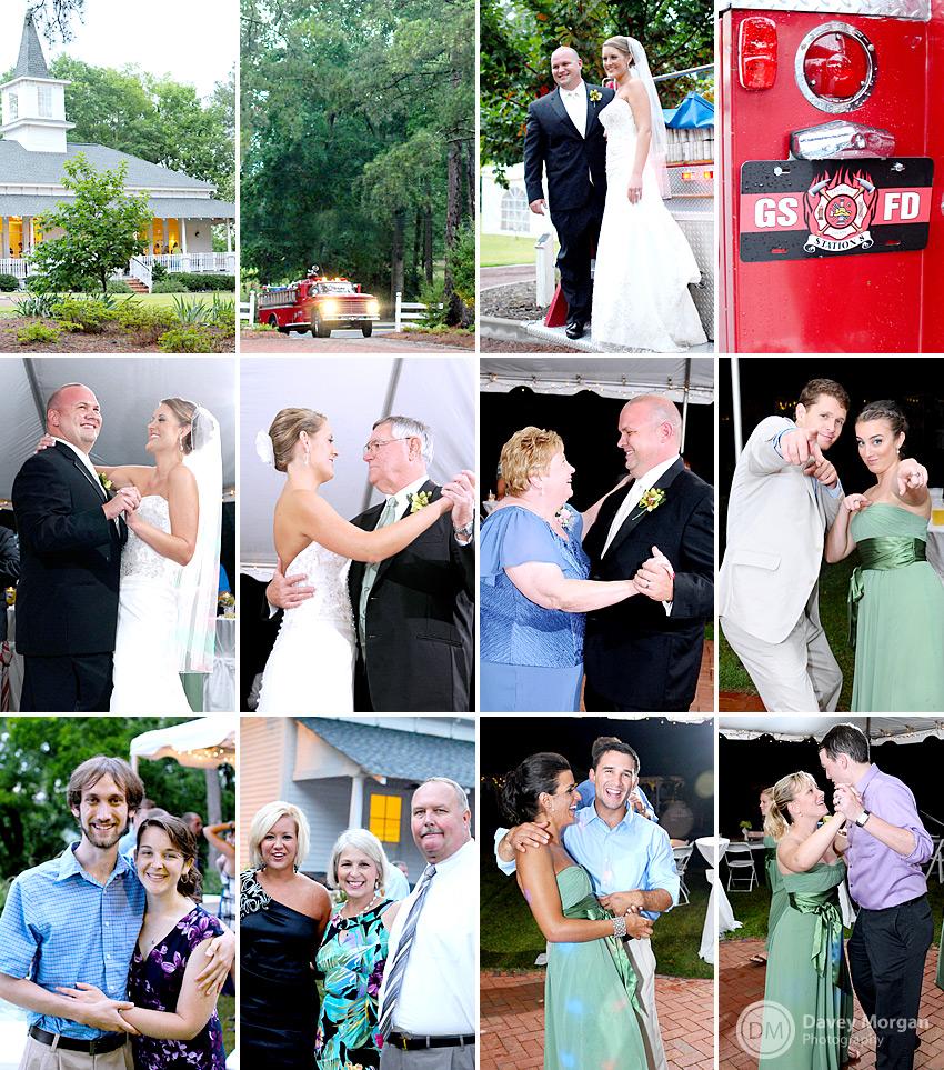 Wedding Reception at Palmetto Collegiate Institute | Davey Morgan Photography