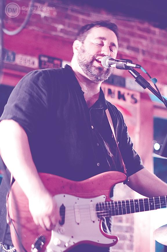 Matt Morgan Live at Chicora Alley in Greenville, SC | Davey Morgan Photography