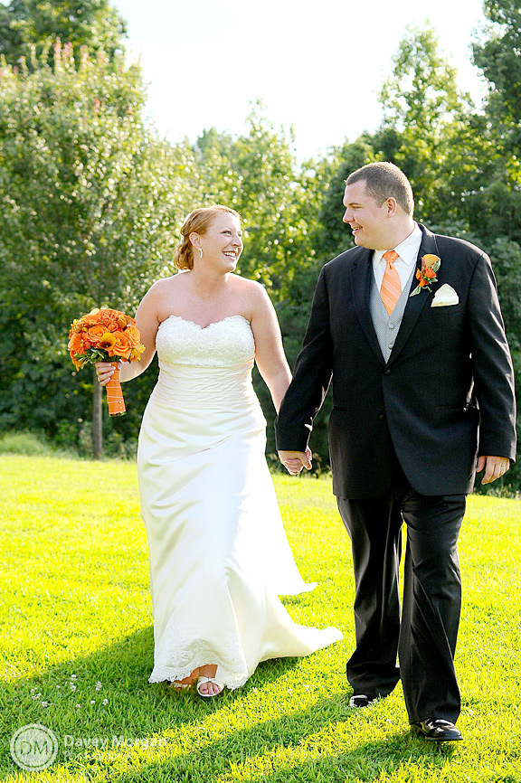 Pictures of a Clemson Bride & Groom | Davey Morgan Photography