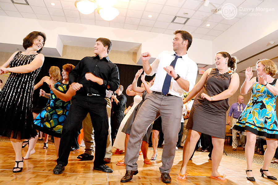 DJ has guests dancing to music at the Clemson Madren Center | Davey Morgan Photography